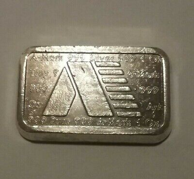 1981 - 1OZ A-Mark Bar USVI INGOT CO. • 32.19£