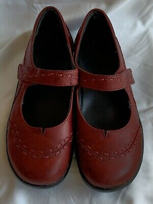 AU77.36 • Buy Ziera  Gummibear  Leather Mary Janes Shoes Size 9 Us/40 Eur M