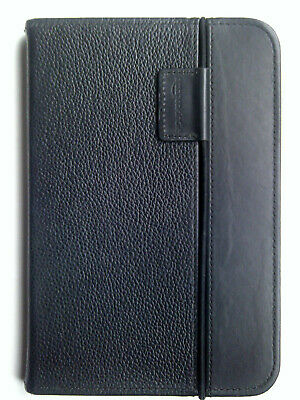 Amazon Kindle Keyboard Black Leather Lighted Cover Case • 17.99£