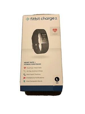 $ CDN48 • Buy Fitbit Charge 2 Black Used Activity Monitor + Heart Rate