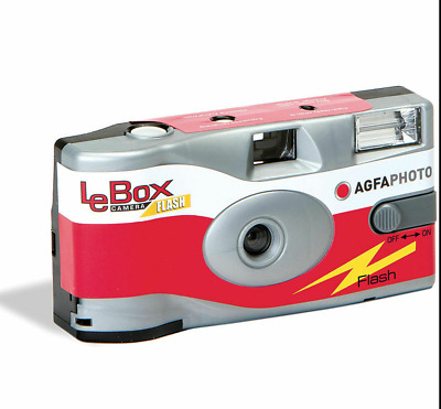 Agfa Photo LeBox 400iso Disposable Camera With Flash, 27 Exp • 10.49£