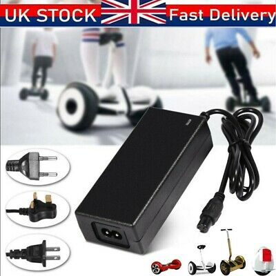Fast Charger Power Adapter For Swegway/Segway/Hoverboard Balance Board Plug UK • 6.99£