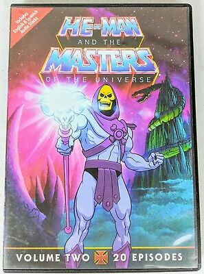 $6.79 • Buy He-Man And The Masters Of The Universe, Vol. 2 (DVD, 2011, 2-Disc Set)