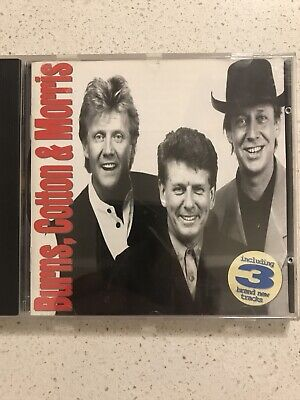 AU46.90 • Buy Burns, Cotton & Morris - Cd - Like New (signed & In Mint Condition)