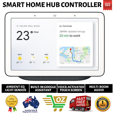 AU199.79 • Buy Google Home Hub Smart Home Controller (AU Version) - Charcoal