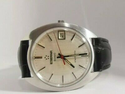 Vintage Eterna Sonic  Electronic Tuning Fork Watch Beautiful Dial • 250£