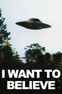 AU21.90 • Buy X Files ( I Want To Believe) Movie A3 Or A4 Poster Prints HQ Choose Your Size.