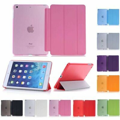 AU10.95 • Buy Smart Cover Hard Back Case For Apple IPad 8th 7th 6th Gen IPad6 5 4mini Air 2020