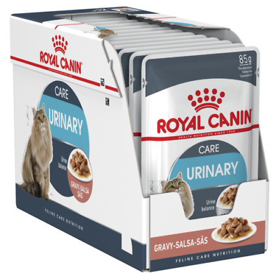£19.73 • Buy Royal Canin Urinary Care In Gravy Wet Cat Food - Maintains Ideal Weight 12 Pack