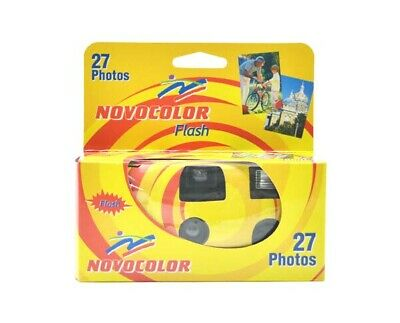 Novocolor Single Use Disposable Camera With Flash **Fast Delivery** • 7.90£
