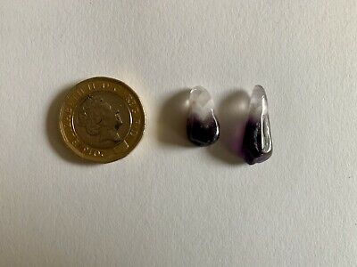 £2.55 • Buy Pair Of Polished Amethyst Chips