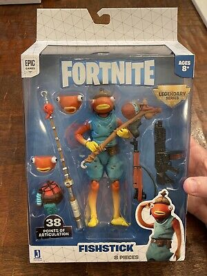$ CDN40.09 • Buy 2020 Fortnite Legendary Series 6 Fishstick Fish Face Action Figure Pack Toy 6""