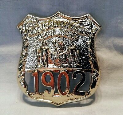 Collectors' Usa Police Obsolete New York City Police Shield  Badge • 75£