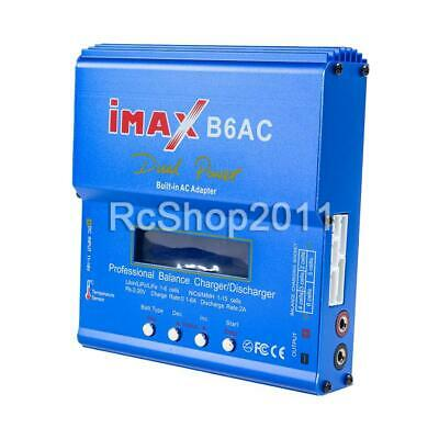 AU50.63 • Buy IMax B6AC 80W RC Lipo NiMh Digital Battery Balance Charger Discharger Control