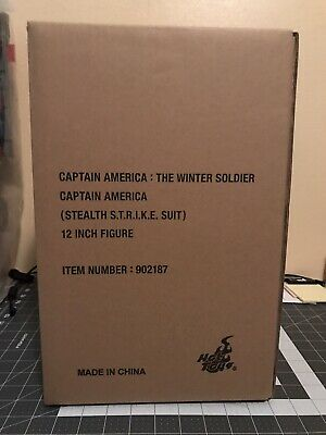 $ CDN400.89 • Buy Hot Toys 1/6 Marvel The Winter Soldier MMS242 Captain America Figure New 🇺🇸
