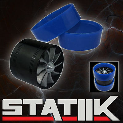 $7.95 • Buy Air Intake Fan Supercharger Turbo Gas Fuel Vortex Kit Saver S2