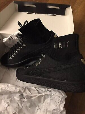 SDCC 2017 PUMA Clyde Sock Black Panther BAIT Size 7 DS 184/200 Chadwick Boseman • 130.24£