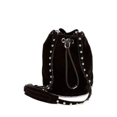 AU1208 • Buy Alexander Wang Black Suede Alpha Bucket Bag US