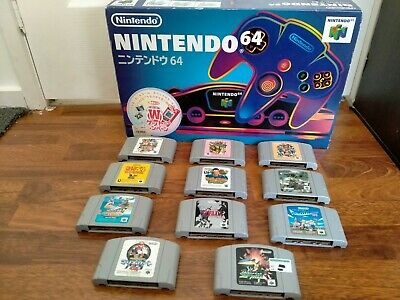 AU250 • Buy Nintendo 64 Console With 11 Games