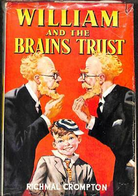 William And The Brains Trust, Crompton, Richmal, Good Condition Book, ISBN • 9.42£