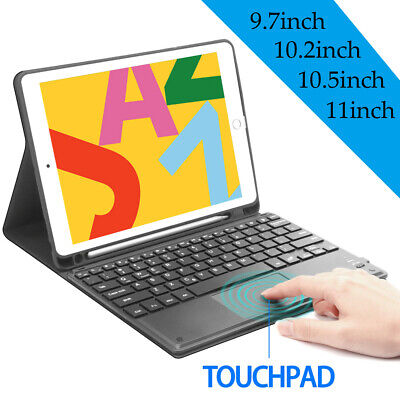 AU39.99 • Buy Touchpad Bluetooth Keyboard Case For IPad 5/6/7/8th Gen Pro 11 /10.5  Air 3/2/1