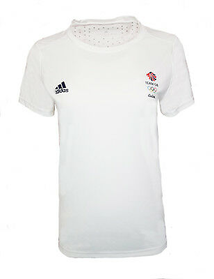 Adidas Response Training T Shirt Womens 18 Team GB Running Gym • 9.99£