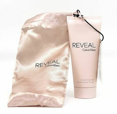 2 X 100ml Calvin Klein Reveal Sensual Body Lotion With Satin Pouch • 11.99£