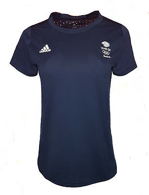 Adidas Response Training T Shirt Womens 16 Team GB Running Gym • 9.99£