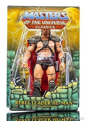 $65 • Buy MOTU Classics William Stout Rebel Leader He-Man Masters Of The Universe New