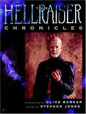 The Hellraiser Chronicles, Very Good Condition Book, Stephen Jones, Clive Barker • 12.30£