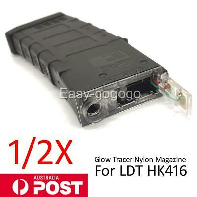 AU63.99 • Buy LDT HK416 Glow Tracer Nylon Magazine Toy Mag For Gel Blaster Accessories AU