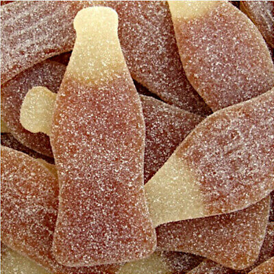 Haribo Fizzy Giant Cola Bottles Zing Retro Sweets Sour Gummy Jelly Pick N Mix • 9.99£
