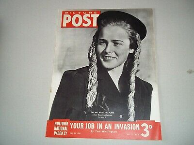 Picture Post Magazine 24 May 1941 Invasion • 6.50£