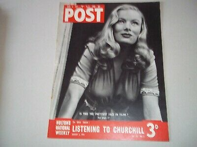 Picture Post Magazine 2 August 1941 Churchill  Franco • 6.50£
