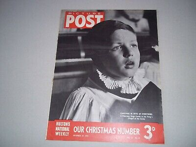 Picture Post Magazine 27 December 1941 Christmas  London Music Hall • 6.50£