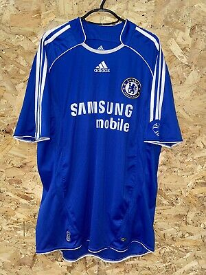 £29.99 • Buy CHELSEA 2006-2008 HOME Adidas FOOTBALL SOCCER SHIRT JERSEY TOP LARGE ADULT