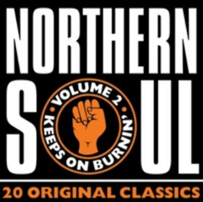 Northern Soul Vol. 2 - 20 Original Classics CD *NEW & SEALED* • 3.74£