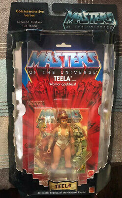 $60 • Buy MASTERS OF THE UNIVERSE TEELA 2001 Commemorative #10,000 SSP MOTU_28997_NRFB