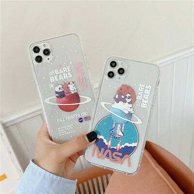 AU6.35 • Buy For IPhone 11 Pro Max XS XR 6 7 8+ Cute Cartoon We Bare Bears Phone Case SAMSUNG