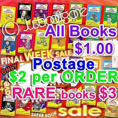 AU6.64 • Buy COLES TREEHOUSE LITTTLE 24BOOKS 4RARE Choose ANY To COMPLETE Your FULL SET │SALE