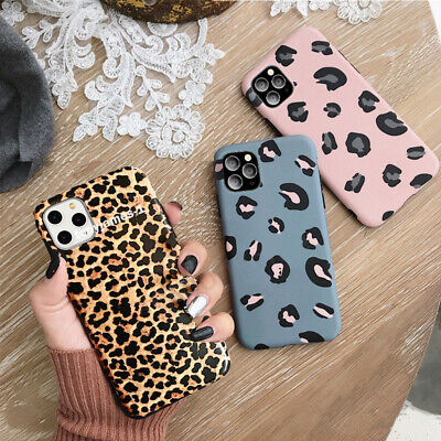 Case For IPhone 12 11 Pro MAX XS 7 8 Plus SE2 Leopard Print Soft Silicone Cover • 2.99£