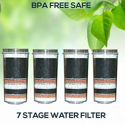 AU79 • Buy 7 Stage Water Filter Replacement Cartridge Carbon Ceramic Aimex Water Filters X4
