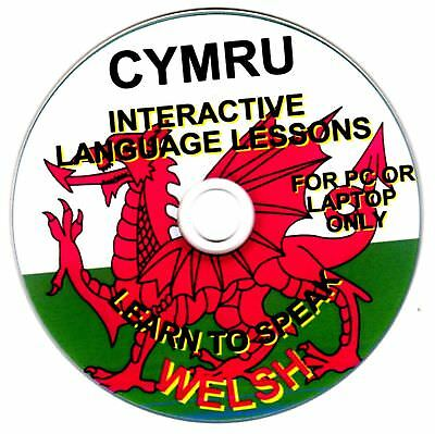 Welsh Cymru Language Course PC-rom Disc • 6.99£
