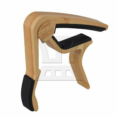 $ CDN13.16 • Buy Spring Released Clamp Capo For Acoustic Guitar Wood Color