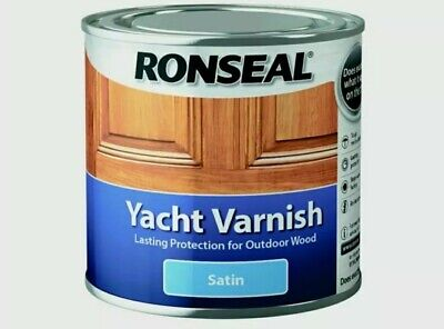 Ronseal Yacht Varnish Satin 250ml  • 10.99£