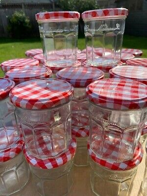 40 X 370g BONNE MAMAN Jam Jars With Lids - Ideal For Pickling/preserving • 15£