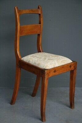 AU330 • Buy Rare Antique Provincial Empire Fruitwood Chair Gorgeous Patina French 1810