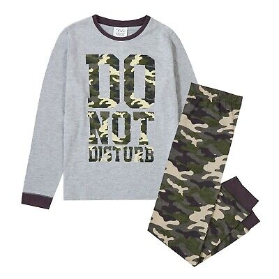 EX BODEN BOYS CAMO OR PLAIN COTTON CARGO FULL LENGTH TROUSERS AGES 1-14  BNWOT