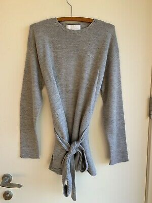 AU139 • Buy VIKTORIA WOODS Grey Knit With Belt - Size 0