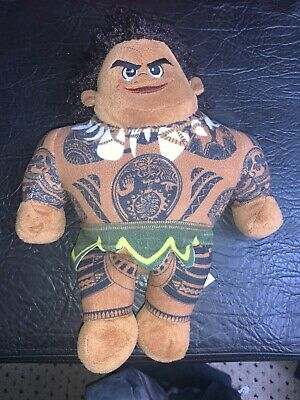"Disney Moana Maui Doll Plush Soft Toy Teddy Approx 10"" • 10£"